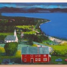 Homeground, acrylics on canvas, 40x60cm